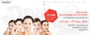 ASIA DERMA - SINGAPORE @ SUNTEC Convention and Exibition center - Singapore | Paris | Île-de-France | Francia