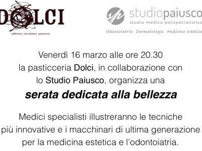 Medicina Estetica a Lissone - Monza Il nuovo centro di medicina estetica del gruppo Jenevì Medical, si trova a Vedano al Lambro presso lo studio polispecialistico Paiusco. Venerdì 16 marzo 2018 alle ore 20.30, presso la sala convegni del