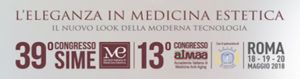 Congresso di medicina estetica SIME 2018
