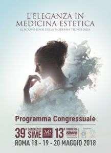 Medicina Estetica Roma - congresso SIME 2018