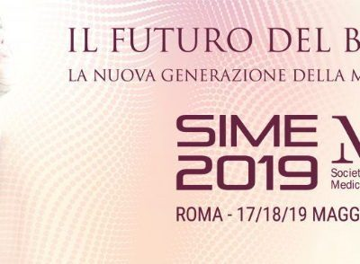 Medicina estetica a Roma – congresso Sime 2019