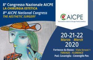 AICPE 2020 - Congresso di Chirurgia Estetica Firenze.